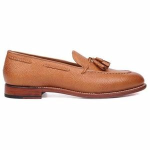 CLEARANCE   Vintage Leather Loafers with Tassels